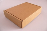 Brown Cardboard Postal Box (50 per pack)